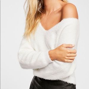 Princess V-Neck Sweater